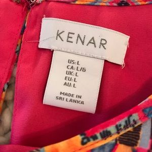 Kenar Tops - Red Blouse by Kenar. Size Large